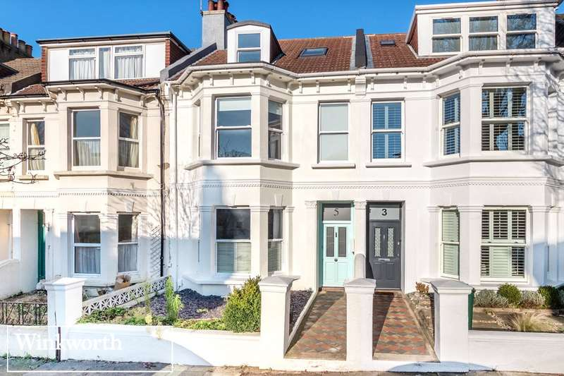 4 Bedrooms Terraced House for sale in Newtown Road, Hove, East Sussex, BN3