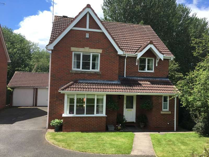 4 Bedrooms Detached House for sale in Hall Farm Close, Hixon, Stafford, Staffordshire, ST18