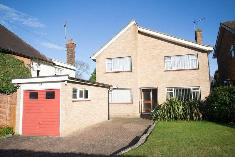 4 Bedrooms Detached House for sale in Worrin Road, Shenfield, Brentwood, Essex, CM15