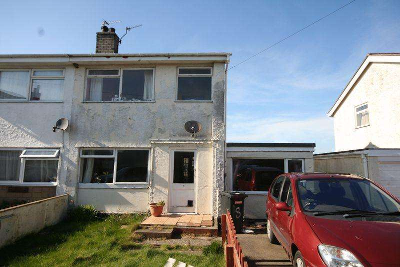 5 Bedrooms Semi Detached House for sale in Llangaffo, Anglesey