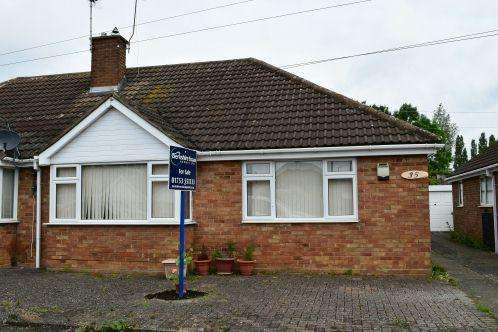 2 Bedrooms Semi Detached Bungalow for sale in Alderbury Road, Langley