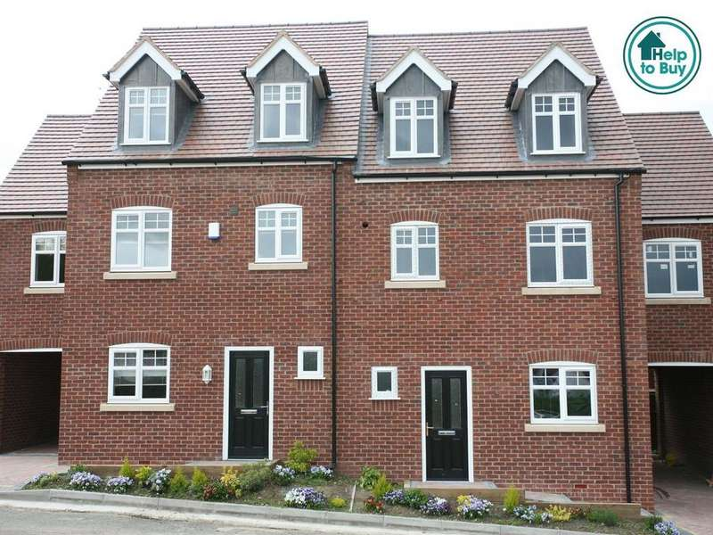 4 Bedrooms Mews House for sale in A Brand New Development at Highfields Gardens, Plot 7, Highfields Gardens, High Mount Street, Hednesford, WS12 4BN