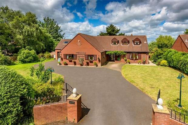 4 Bedrooms Detached House for sale in Rutlands, Old Office Road, Dawley, Telford, Shropshire