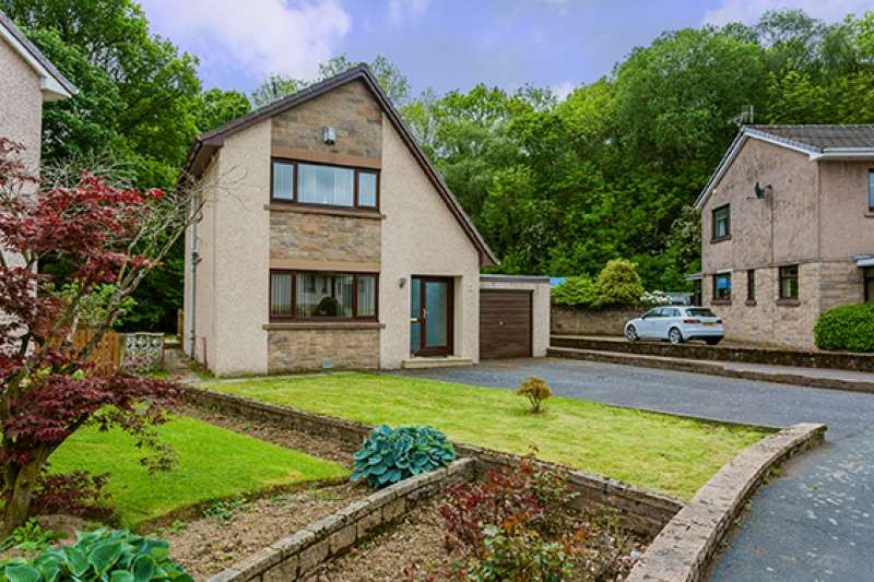 3 Bedrooms Detached Villa House for sale in Kings Drive, Holmhead, Cumnock, KA18 1AG
