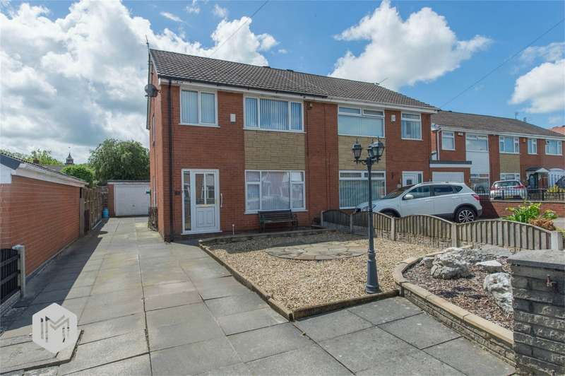 3 Bedrooms Semi Detached House for sale in Stuart Avenue, Hindley Green, Wigan, Lancashire