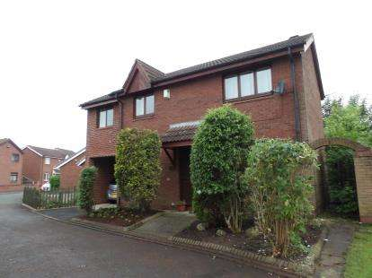 3 Bedrooms Detached House for sale in Wrexham Close, Callands, Warrington, Cheshire, WA5