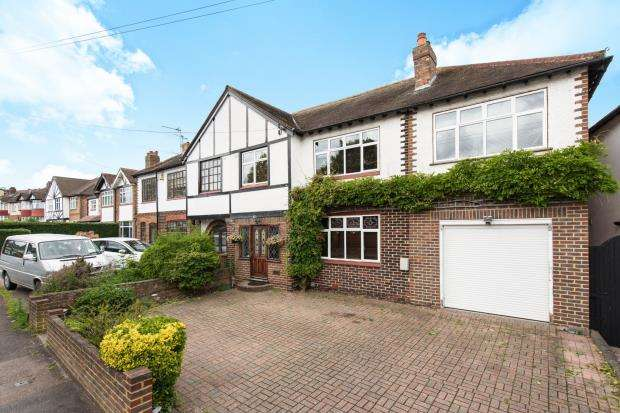 5 Bedrooms Semi Detached House for sale in Worcester Park, Surrey, .