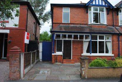 3 Bedrooms Semi Detached House for sale in Springfield Road, Gatley, Cheadle, Greater Manchester