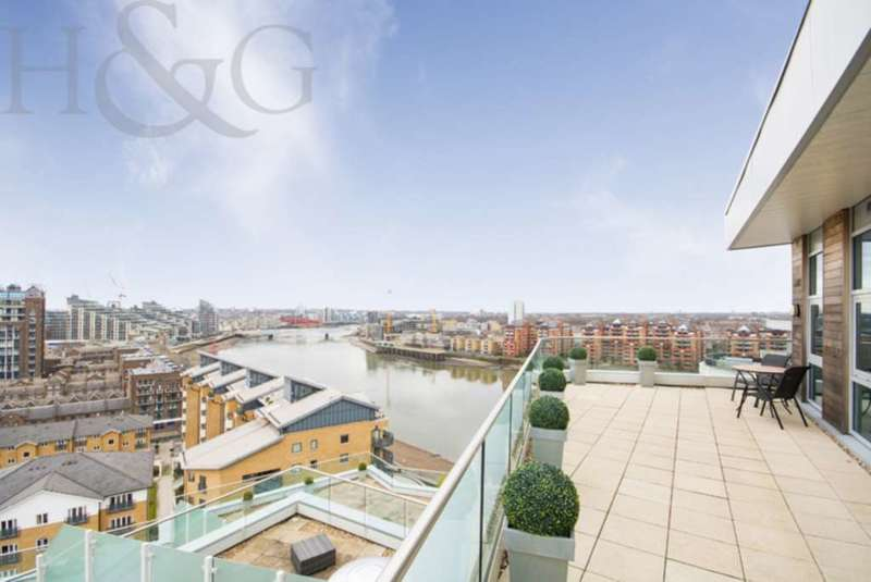 2 Bedrooms Apartment Flat for sale in Orbis Wharf, Bridges Wharf, SW11