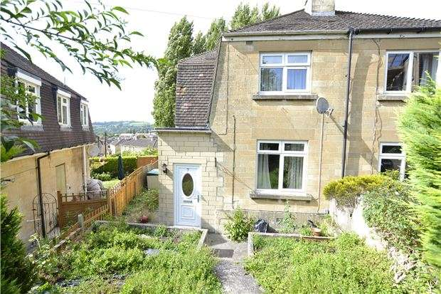 2 Bedrooms Semi Detached House for sale in Springfield Close, BATH, BA2 1EJ