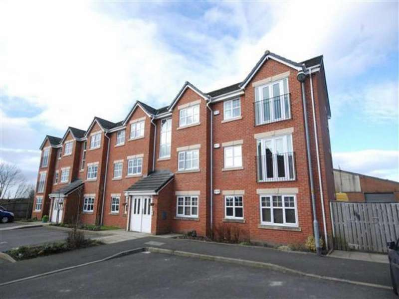 2 Bedrooms Apartment Flat for sale in Turnpike Close, Shawclough, Rochdale, Lancashire, OL12