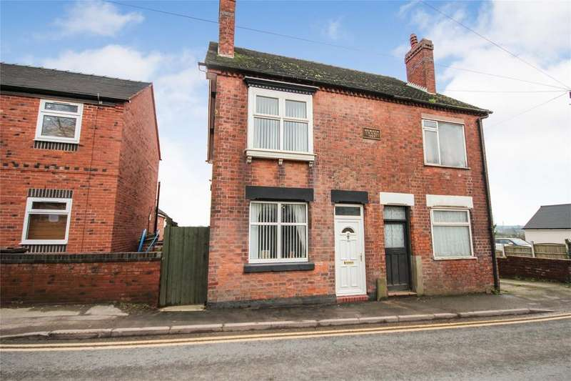 3 Bedrooms Semi Detached House for sale in High Street, Kingsley, Staffordshire