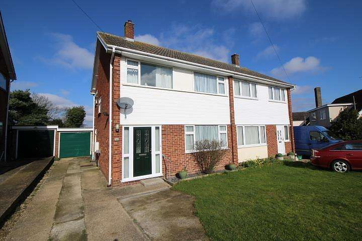 3 Bedrooms Semi Detached House for sale in The Rise, Eight Ash Green, Colchester, Essex, CO6