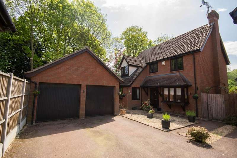 4 Bedrooms Detached House for sale in Felstead Close, Hutton, Brentwood, Essex, CM13
