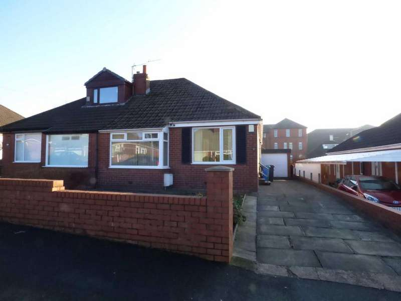 2 Bedrooms Semi Detached Bungalow for sale in Carlton Way, Royton, Oldham, OL2