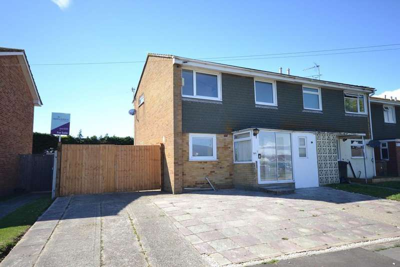 3 Bedrooms Semi Detached House for sale in Hanover Close, Selsey, PO20