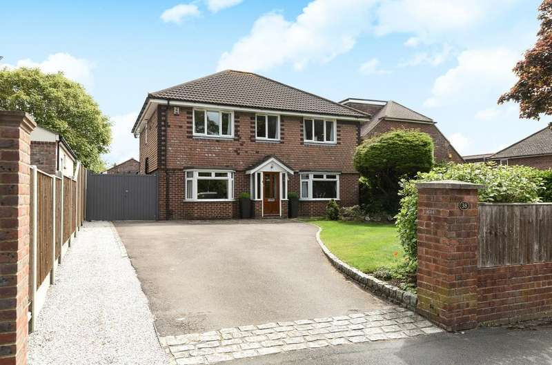5 Bedrooms Detached House for sale in Hollybank Lane, Emsworth, PO10