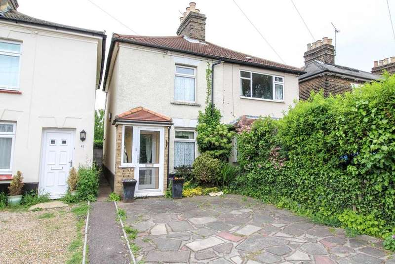 2 Bedrooms Semi Detached House for sale in North Road, Brentwood, Essex, CM14