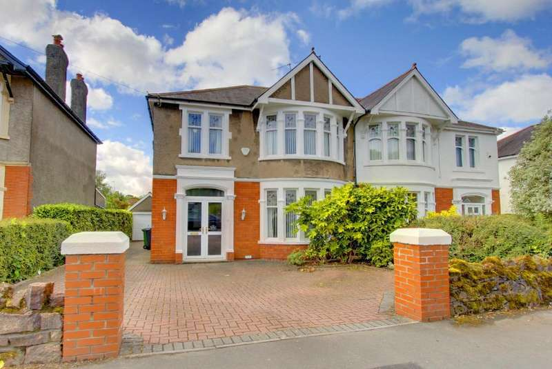 4 Bedrooms Semi Detached House for sale in Sherborne Avenue, Cyncoed, Cardiff