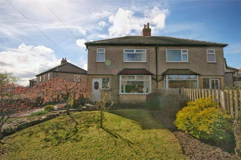 3 Bedrooms Semi Detached House for sale in Goldington Drive, Oakes, HUDDERSFIELD, West Yorkshire, HD3