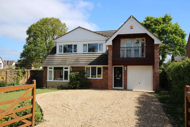 5 Bedrooms Detached House for sale in FOREST ROAD, DENMEAD