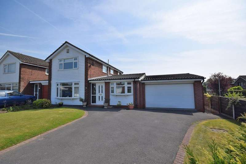 4 Bedrooms Detached House for sale in Hazel Drive, Poynton, Stockport