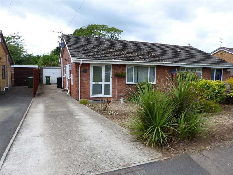 2 Bedrooms Semi Detached House for sale in Wyebank Road, Tutshill, Chepstow