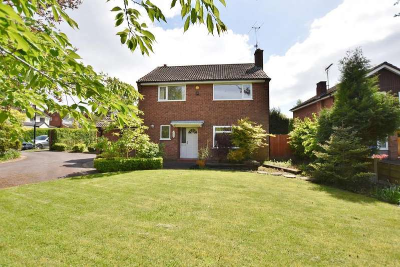 4 Bedrooms Detached House for sale in Fountain Avenue, Hale