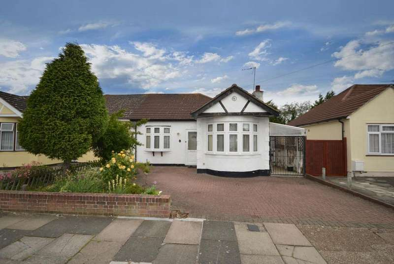 2 Bedrooms Semi Detached Bungalow for sale in Patricia Drive, Hornchurch, Essex, RM11