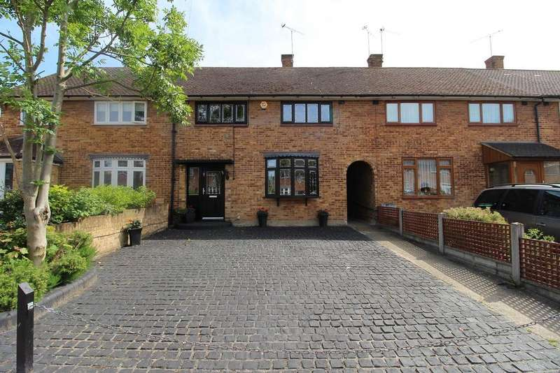 3 Bedrooms Terraced House for sale in Erriff Drive, South Ockendon, Essex, RM15