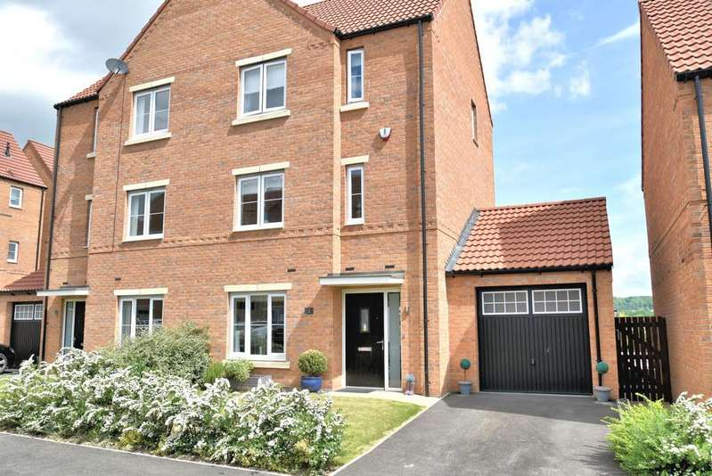 4 Bedrooms Semi Detached House for sale in Heron Drive, Mexborough