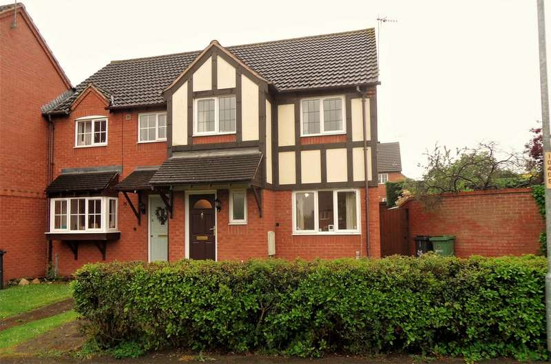 3 Bedrooms End Of Terrace House for sale in Torridon Walk, St Peters, Worcester