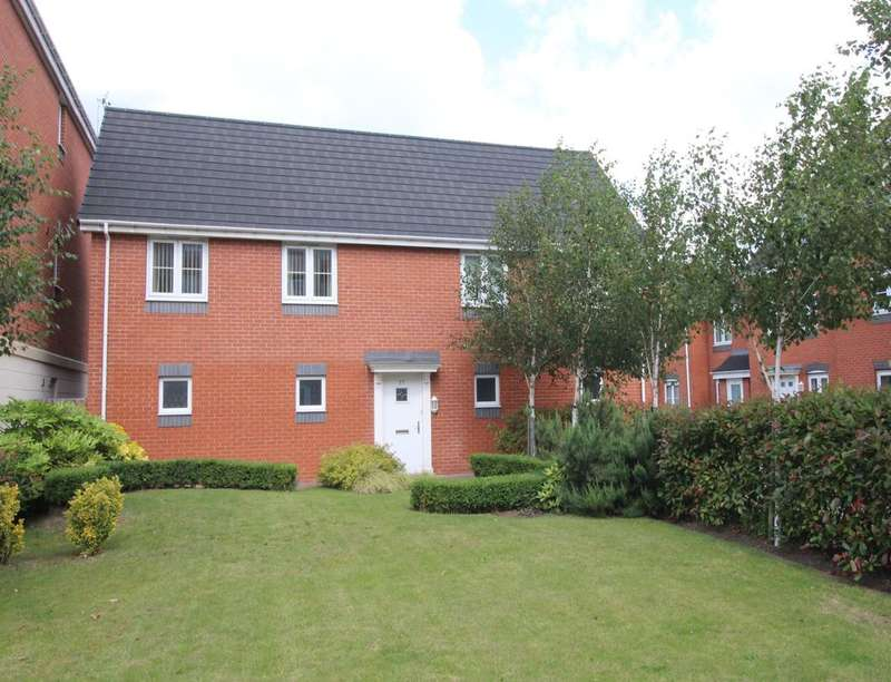 2 Bedrooms Flat for sale in Atlantic Way, Derby, DE24