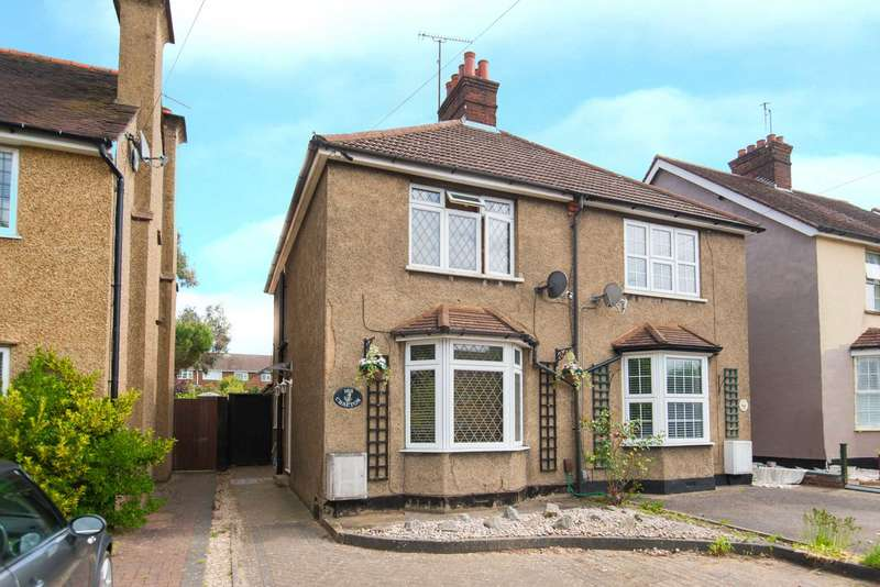 3 Bedrooms Semi Detached House for sale in CHARACTER 3 BEDROOM SEMI CLOSE TO APSLEY TRAIN STATION with 2 RECPTION ROOMS, UTILITY ROOM & OFF ROAD PARKING