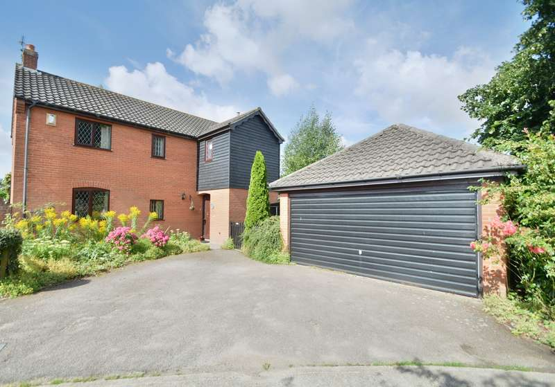 4 Bedrooms Detached House for sale in Chestnut Tree Close, Redgrave