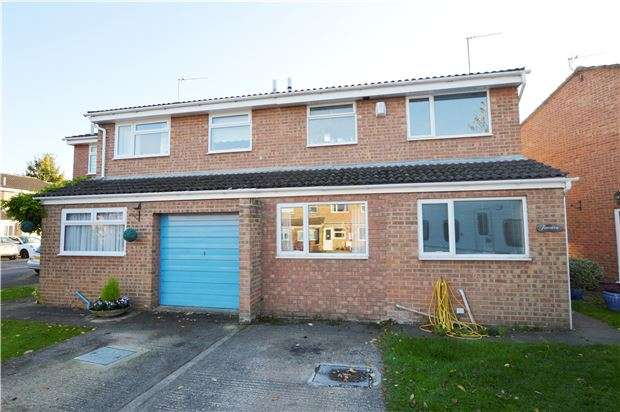 3 Bedrooms Semi Detached House for sale in Marsh Gardens, CHELTENHAM, GL51 9LL