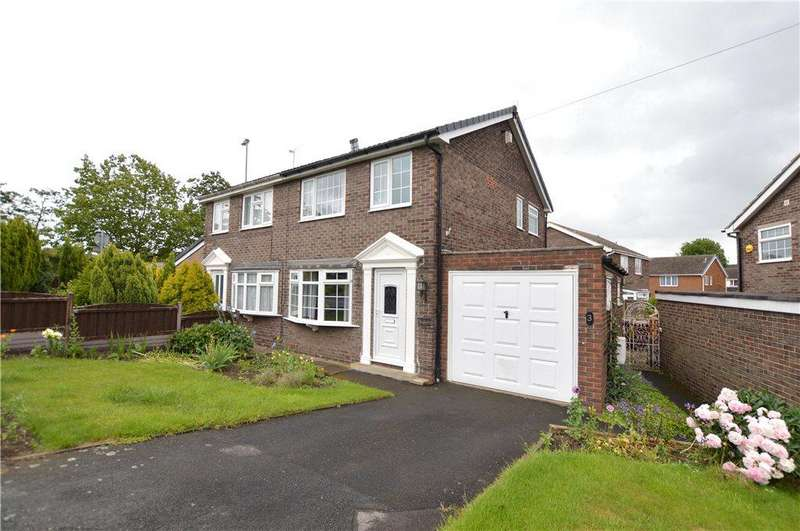 3 Bedrooms Semi Detached House for sale in Brand Hill Drive, Crofton, Wakefield, West Yorkshire