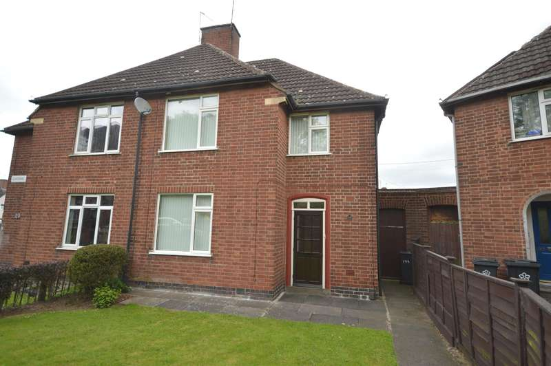 3 Bedrooms Semi Detached House for sale in Gooding Avenue, Leicester, LE3 1JS