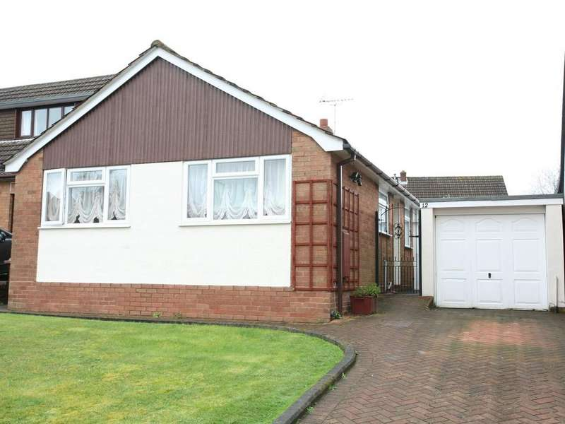 3 Bedrooms Detached Bungalow for sale in 12 Ullswater Place, Cannock, WS11 1DX