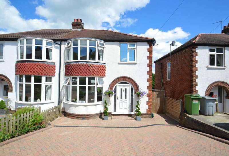 3 Bedrooms Semi Detached House for sale in Marcliff Grove, Knutsford