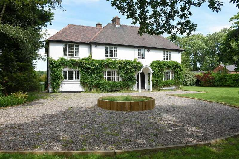 5 Bedrooms Detached House for sale in Northwich Road, Antrobus