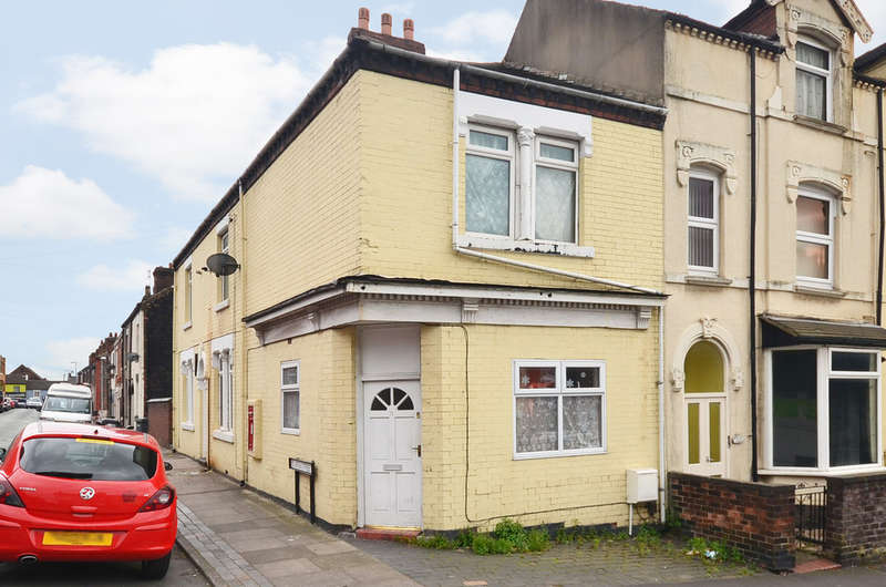 2 Bedrooms End Of Terrace House for sale in Hall Street Burslem