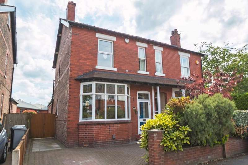 3 Bedrooms Semi Detached House for sale in Woodcote Road, West Timperley, Altrincham, WA14