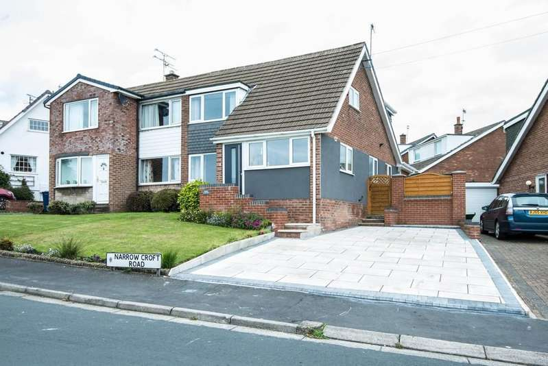 4 Bedrooms Semi Detached House for sale in Narrow Croft Road, Aughton
