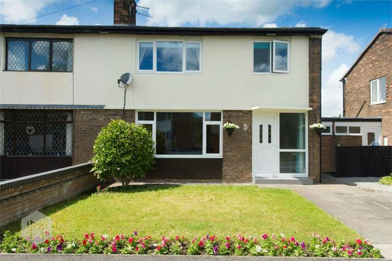 3 Bedrooms Semi Detached House for sale in Howard Road, Culcheth, Warrington, Cheshire