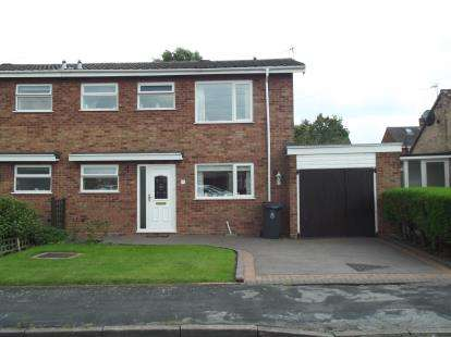 3 Bedrooms Semi Detached House for sale in Longfellow Road, Burntwood, Staffordshire