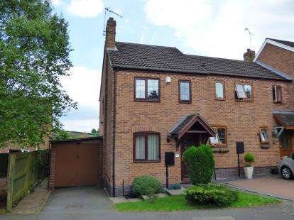 2 Bedrooms Semi Detached House for sale in Best Avenue, Burton-On-Trent, Staffordshire