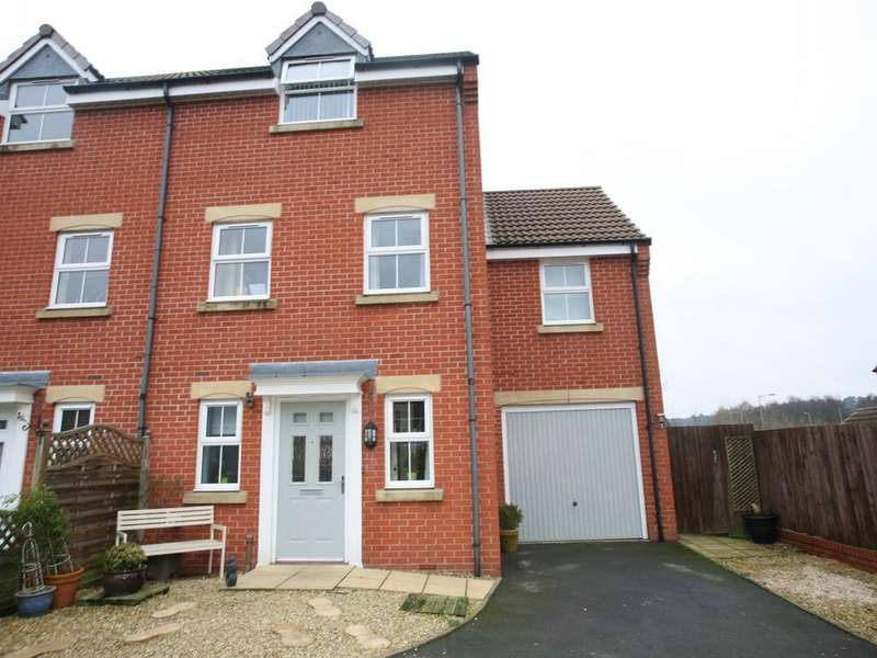 4 Bedrooms Semi Detached House for sale in 14 King Cup Drive, Huntington, Cannock, WS12 4WB