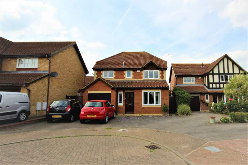 4 Bedrooms Detached House for sale in Denton Drive, Marston Moretaine, Bedford, MK43
