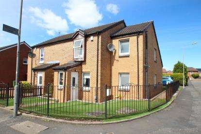 4 Bedrooms Semi Detached House for sale in Westerkirk Drive, Summerston, Glasgow